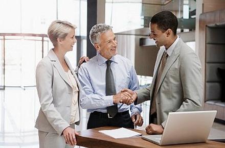 DAK business services transactions