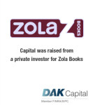 Capital was raised for Zola Books