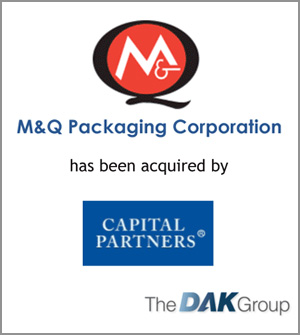 M&Q Packaging acquired by Capital Partners